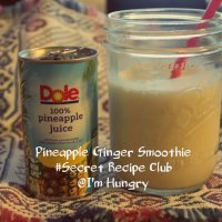 Ginger Pineapple Smoothie - Back to School (Secret Recipe Club)