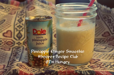 Pineapple Ginger Smoothie