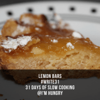 Lemon Bar (Day 24)