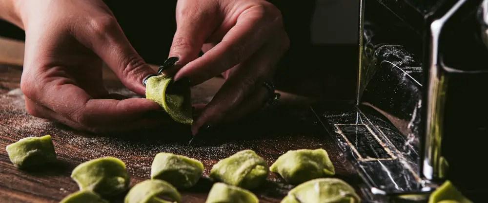 Green Homemade Pasta