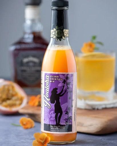 Lilikoi Cocktail Mix fort Passion Fruit Cocktails