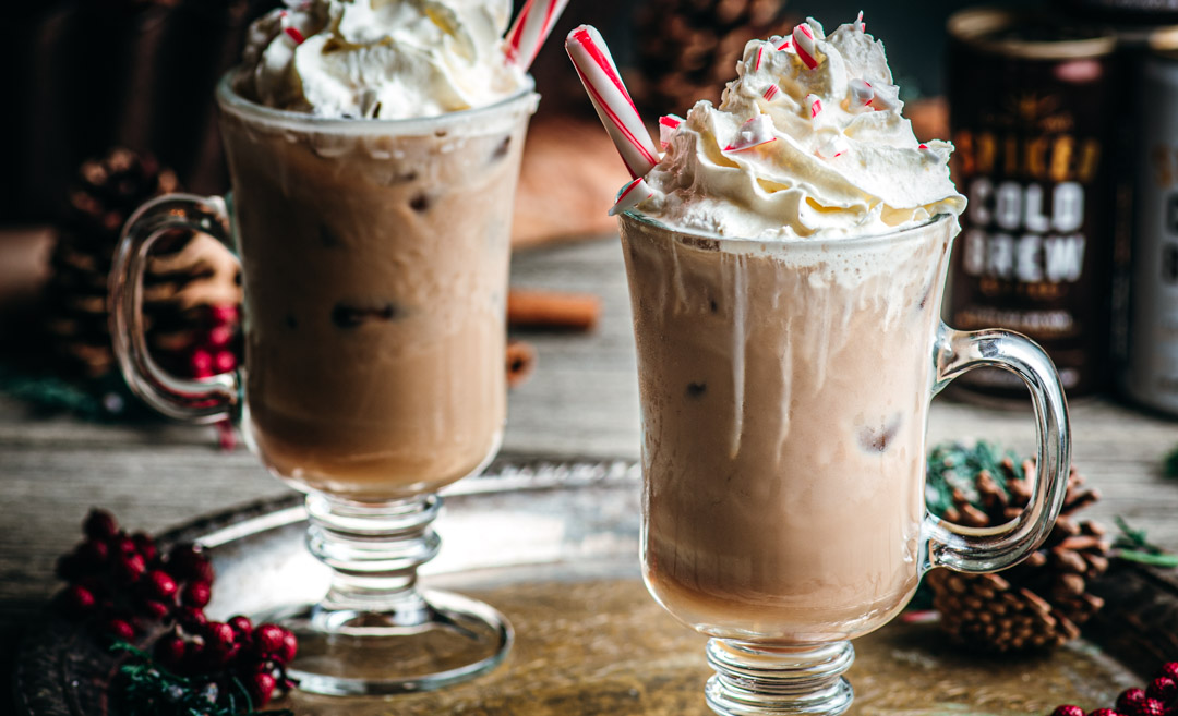 Salted Caramel Peppermint Patty Cocktail