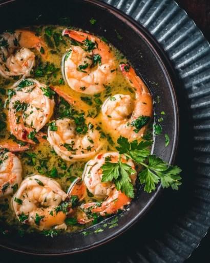 The Best Homemade Shrimp Scampi Recipe