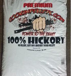 40 Lb Bag Premium 100% Hickory Pellets