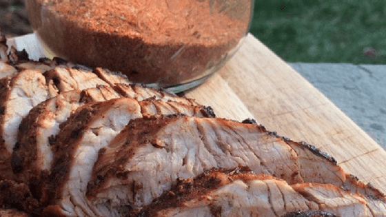 Cinnamon Rub Pork Roast