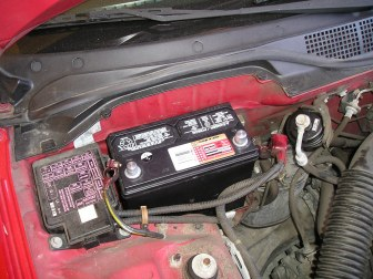 how to reset service battery charging system light