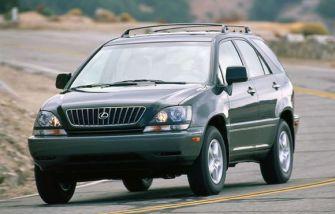 2000 Lexus RX300 Towing Capacity