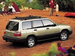 2002 Subaru Forester Towing Capacity
