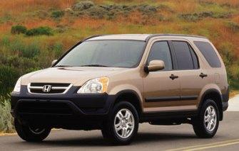 2003 Honda CRV Towing Capacity