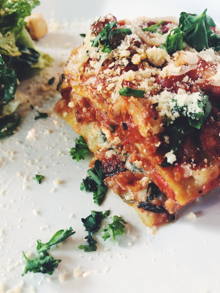 Recipe | Mary's Delicious Protein Lasagna | CookItHealthier.com