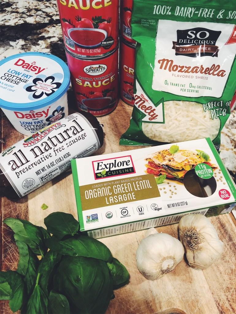 Recipe | Mary's Delicious Protein Lasagna Ingredients