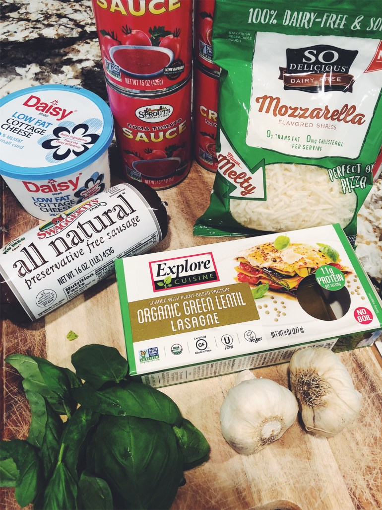 Recipe | Mary's Delicious Protein Lasagna Ingredients