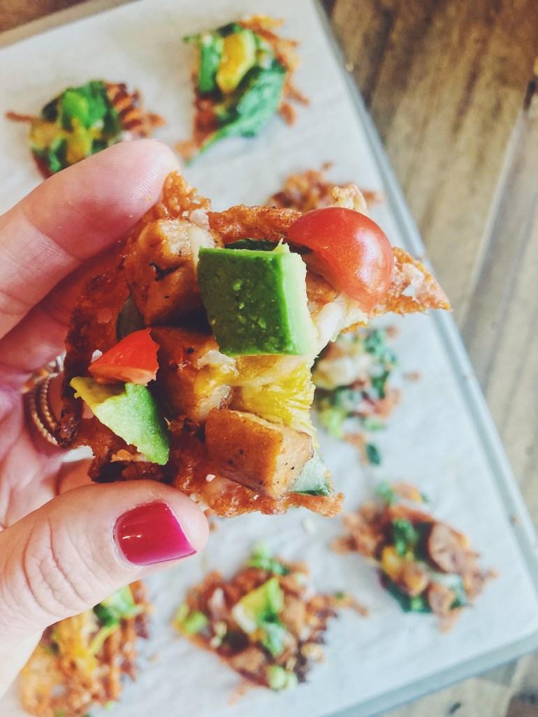 RECIPE | Alexia Sweet Potato Waffle Fry Nachos | CookItHealthier.com