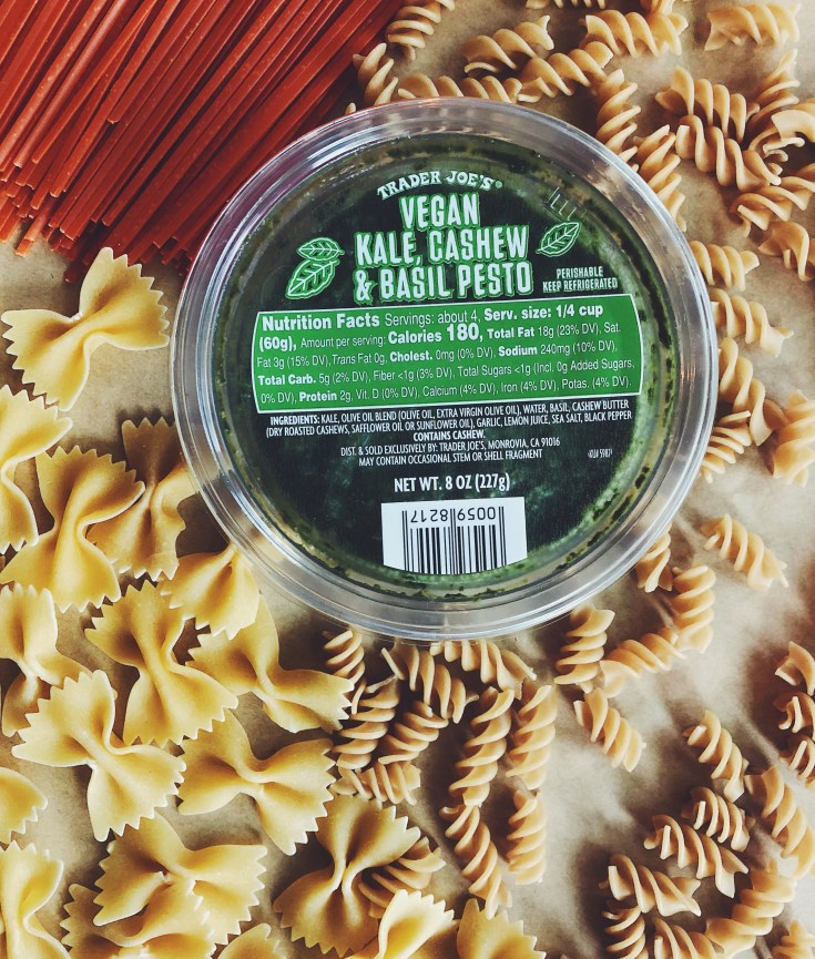 PRODUCT REVIEW | Trader Joe's Vegan Kale, Cashew & Basil Pesto | CookItHealthier.com