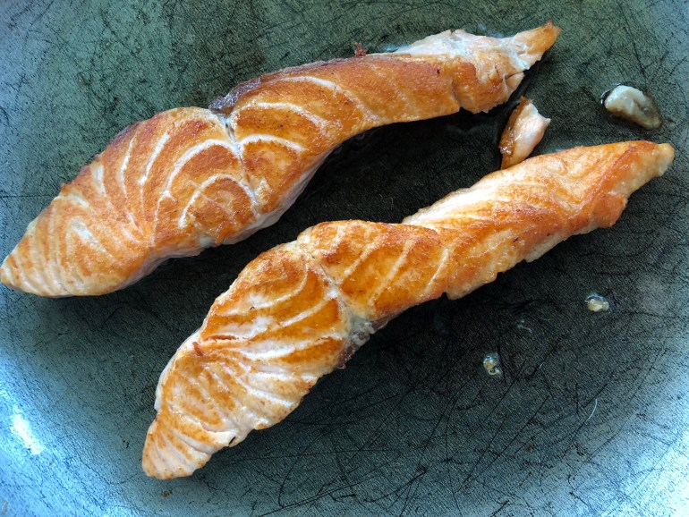 RECIPE | Butter Salmon | CookItHealthier.com