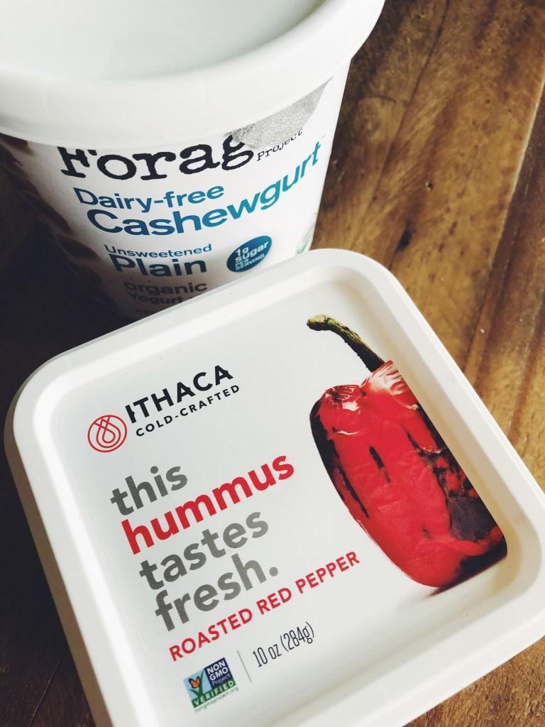 Recipe | Ithaca Cold Crafted Hummus Salmon & Pasta