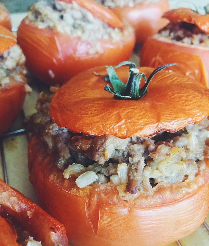 RECIPE | Chinese Stuffed Tomatoes | Cookithealthier.com