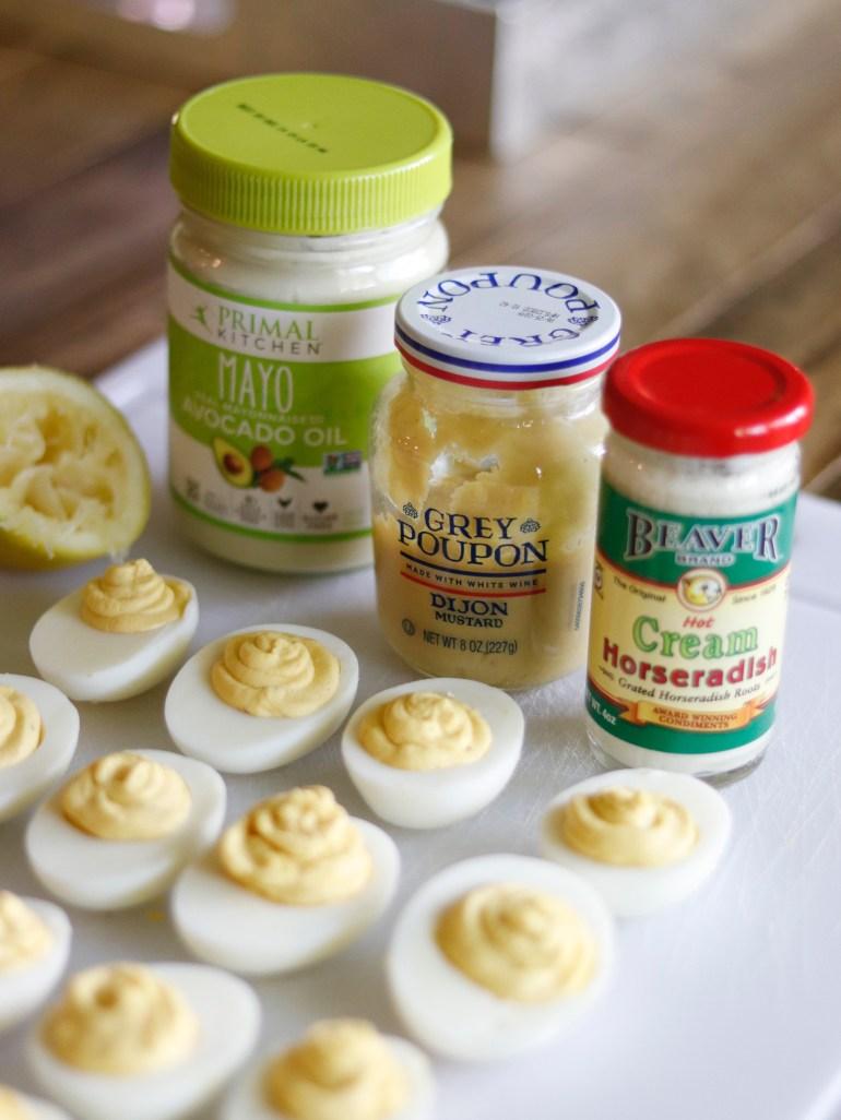 Recipe   Horseradish Deviled Eggs   cookithealthier.com