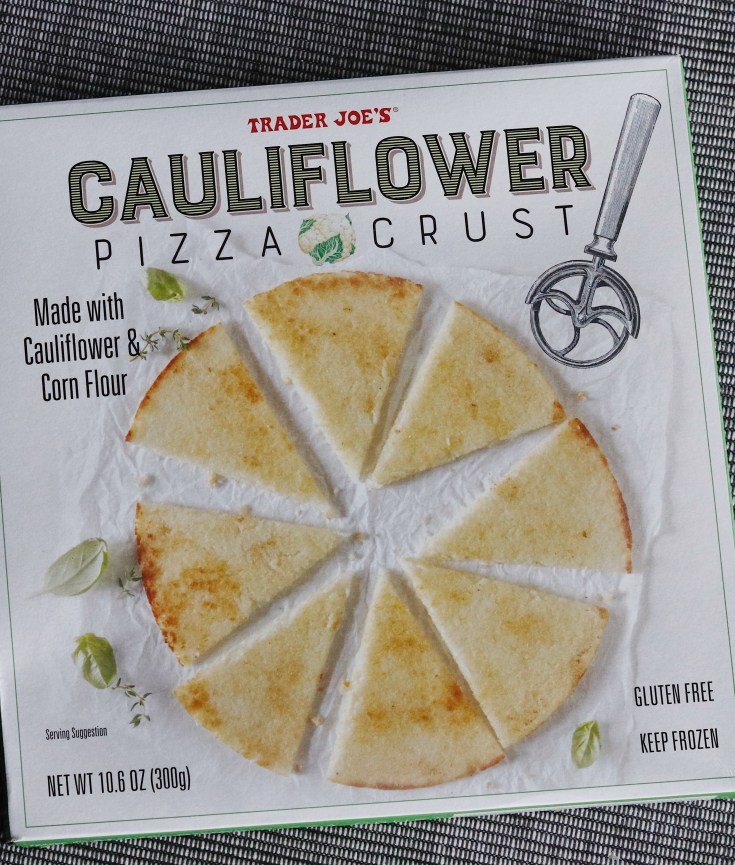 Product Review | Trader Joe's Cauliflower Pizza Crust | cookithealthier.com