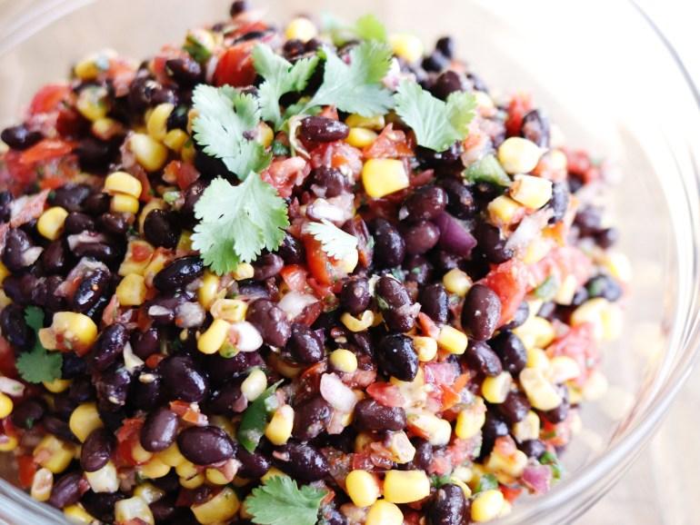 RECIPE | Black Bean & Corn Salsa | cookithealthier.com