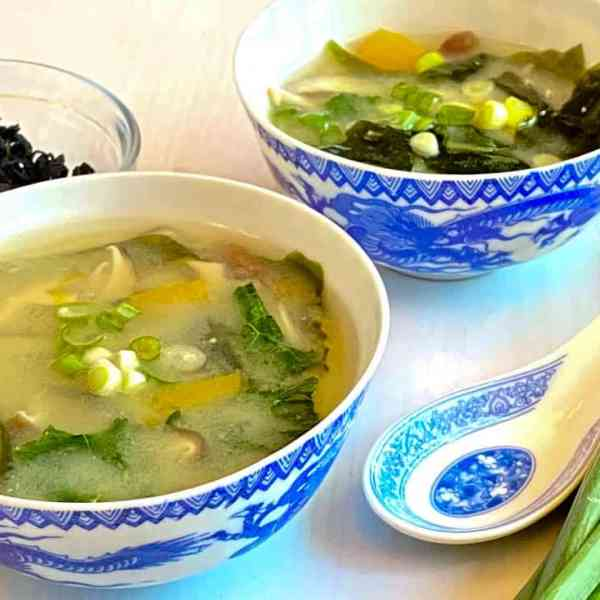 Healing Vegetable Miso Soup