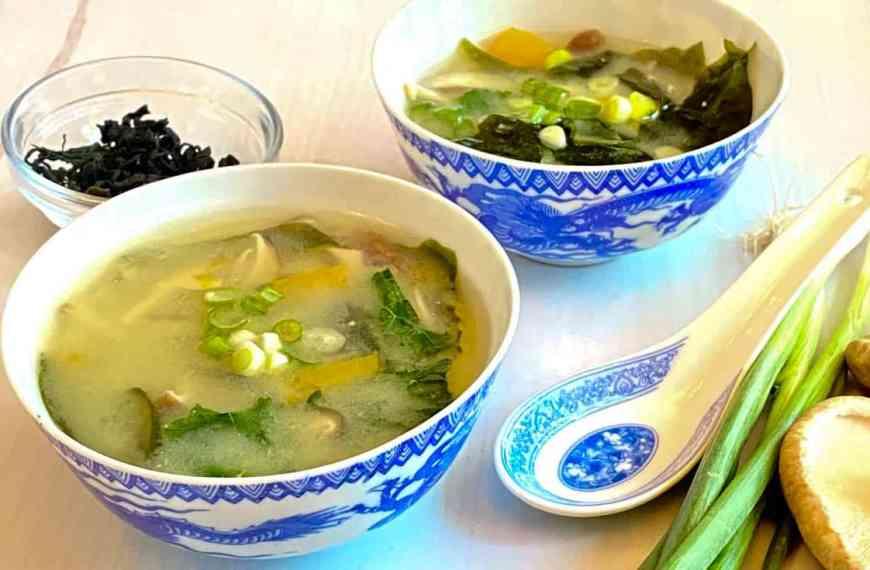 Healing Vegetable Miso Soup