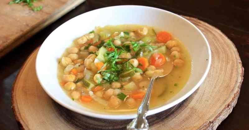 Italian Chickpea Soup • Cook Love Heal by Rachel Zierzow