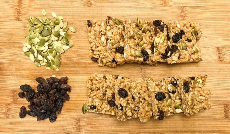 Mineral-Rich Gluten Free Energy Bars