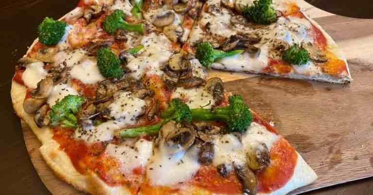Homemade Veggie Lover's Pizza •Cook Love Heal by Rachel Zierzow
