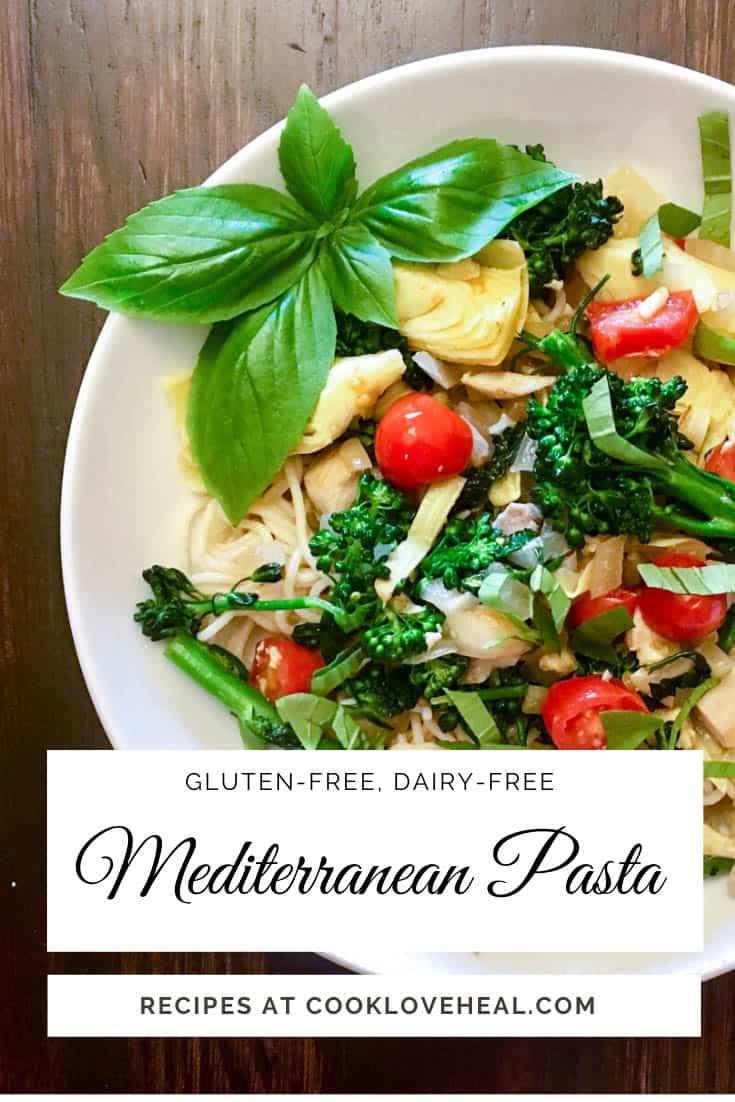 Mediterranean Pasta • Cook Love Heal by Rachel Zierzow