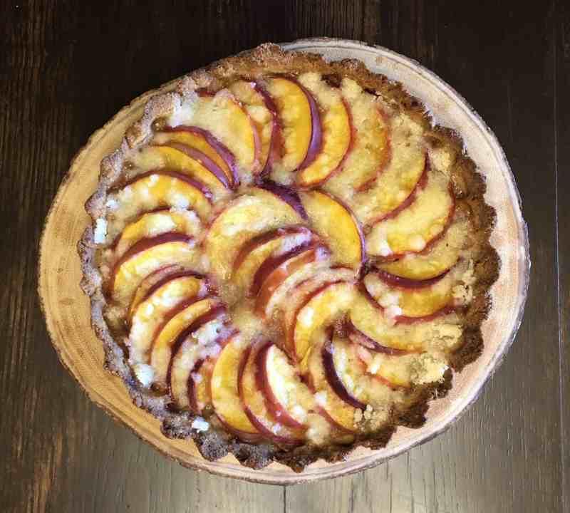 Gluten Free Peach Tart • Cook Love Heal by Rachel Zierzow