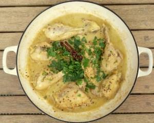 Korma, onion free curry