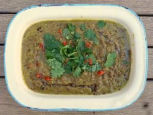 Tinned lentil Dhal, low GOS, IBS