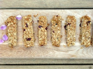 Low FODMAP Cranberry and Oat Flapjacks