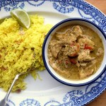 Low FODMAP leftover turkey curry