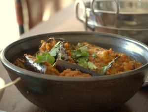 Low FODMAP Aubergine Curry
