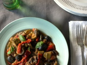 Low FODMAP Ratatouille