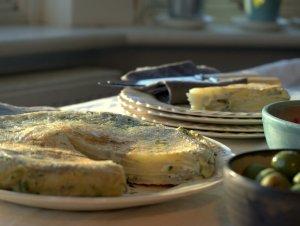 Low FODMAP Spanish Omelette
