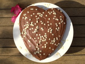 Low FODMAP Chocolate Celebration Cake