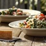 Low FODMAP vegetarian, risotto
