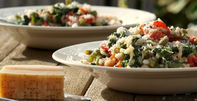 Low FODMAP Vegetable Risotto