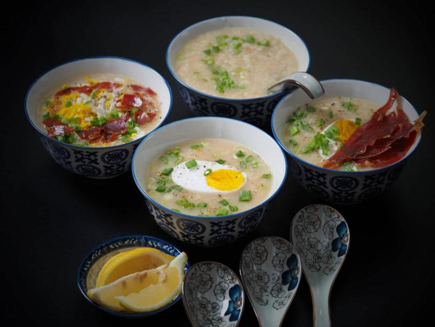 Gingery Rice Porridge
