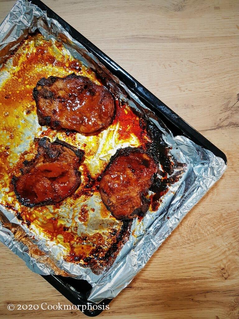tasty grilled pork chops