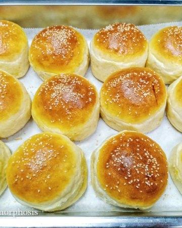 ultimate no-knead dough burger buns