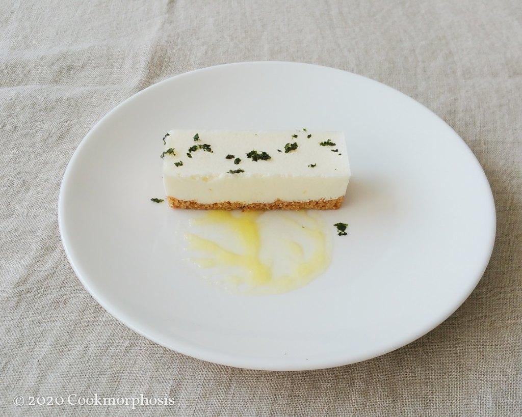 light unbake japanese tofu cheesecake
