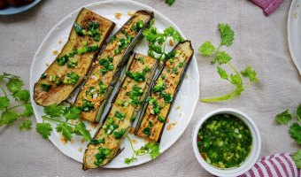 grilled eggplant in oven