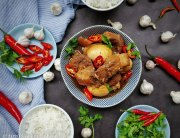 braised pork belly in fish sauce