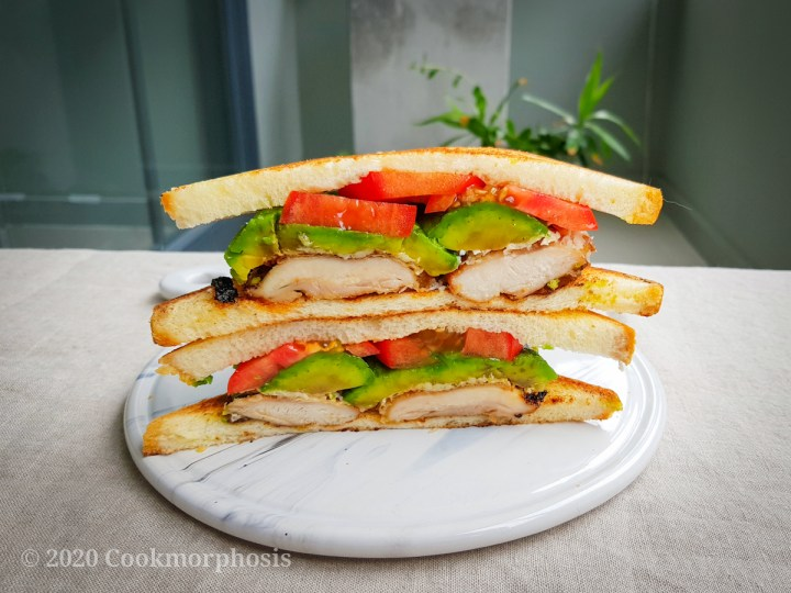 cajun style grilled chicken avocado sandwich