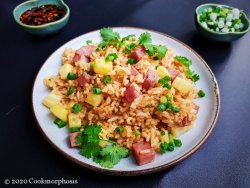 spam & pineapple fried rice