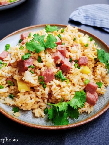 The best spam and pineapple fried rice recipe